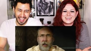 ARMY OF ONE Trailer Reaction Discussion by Jaby & Meghan Mayhem