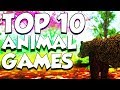 Top 10 Animal Games On Roblox (2018 Gameplay)