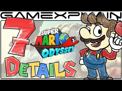 7 Super Mario Odyssey Details Nintendo Won't Let Us Show You...So We Drew Them Instead!