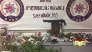 SAMSUN'DA AİLEYE UYUŞTURUCU OPERASYONU