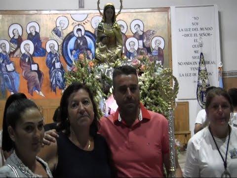 Subasta de la Vara de la Virgen del Mar (Punta del Caimán) 2019.