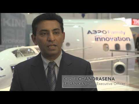 airbus - SriLankan Airlines CEO Kapila Chandrasena speaks about the carrier's 20-year relationship with Airbus and its exclusive fleet of A340, A330 and A320 Family a...