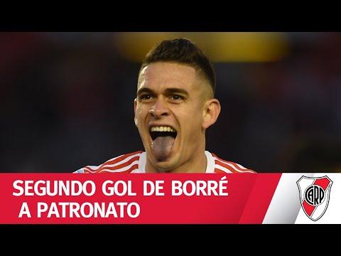 ¡Toque, toque y golazo de Rafael Borré! - River 2 Patronato 0