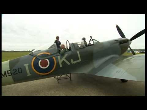 Video Veteran flies Spitfire for first time since WWII download in MP3, 3GP, MP4, WEBM, AVI, FLV January 2017