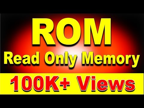 What is Computer ROM? Read Only Memory | ROM Types Explained ft. MROM, PROM, EPROM, EEPROM (Hindi)