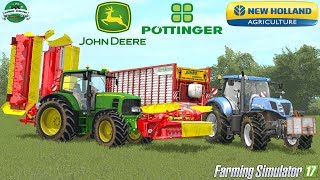 Watch in FHD 1080p (50Mbps) 60p!! Lasciate un like, commentate e condividete!!Buongiorno amici oggi un nuovo Film-Video con John Deere 7430P in falciatura erba con Pottinger Alpha Motion NovaCat e New Holland T7.235 AC con Pottinger Jumbo Combiline 6610 .Buona Visione!! ;)Leave a like, comment and share!!Hi everyone!! Today new Film-Video . EnjoY!Good Vision! ;)If you like my mods and my work support me with free donation:paypal.me/Gaming4EvolvedFreedom with me:https://www.freedom.tm/Gaming94GIOCHI CON 70% DI SCONTO! : http://www.instant-gaming.com/igr/Gaming4EvolvedADD ME ON STEAM COMMUNITY: http://steamcommunity.com/id/Gaming4EvolvedMAP: PGR Bruzda (Mod Contest)JD7430P : PrivateNEW HOLLAND T7 Series : Coming soonPOTTINGER JUMBO 6610 : Private