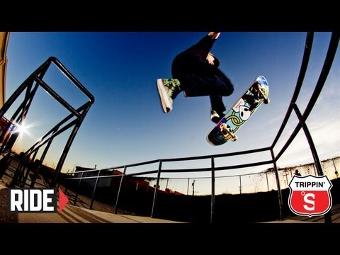 The Skateboard Mag x HUF   Trippin in Texas | Video