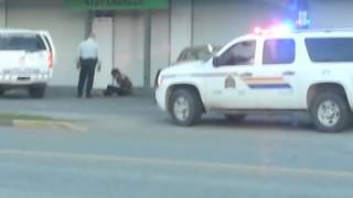 Terrace (BC) Canada  city photos gallery : Warning: graphic content - RCMP arrest man in Terrace, B.C.