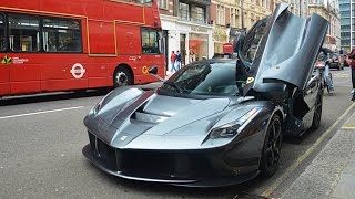 Here we have a stunning Grigio Ferrari LaFerrari owned by TV chef Gordon Ramsay. He parked the car on Sloane street,...