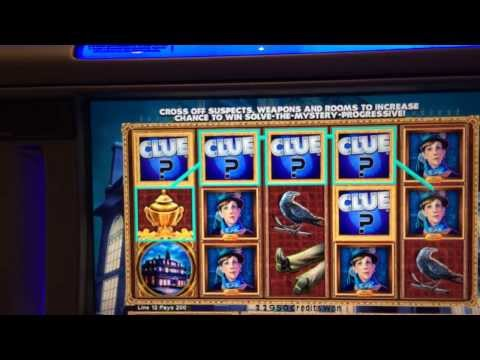 clue slot machine