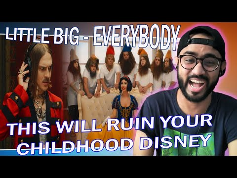 LITTLE BIG - EVERYBODY (Little Big Are Back) (Official Music Video) INDIAN REACTION | SPEXPLX