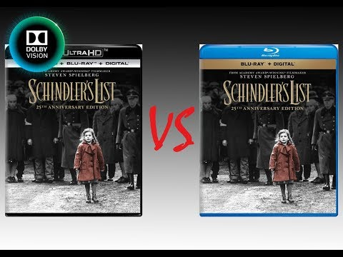 ▶ Comparison Of Schindler's List 4K Dolby Vision Vs Schindler's List 25th Anniversary Edition