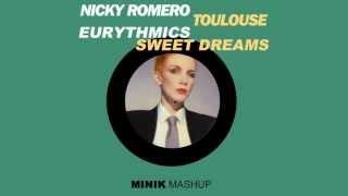 Video Nicky Romero vs. Eurythmics - Sweet Dreams Toulouse (Minik Mashup) MP3, 3GP, MP4, WEBM, AVI, FLV Juni 2018