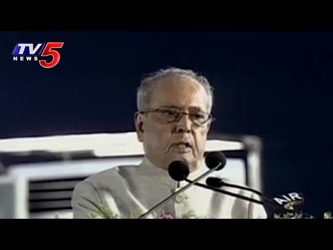 President Pranab Mukherjee Addressing at Osmania University Centenary Celebrations