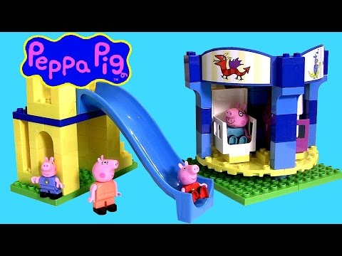 pig - DisneyCollector presents Princess Peppa Pig Amusement Park with Family 4006592456733 simliar to Lego Duplo & Mega-Bloks. Peppa Pig Theme Park comes with the most amazing attractions for a day...