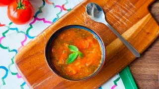 Marrokanische Gemüsesuppe Harira vegetarisch
