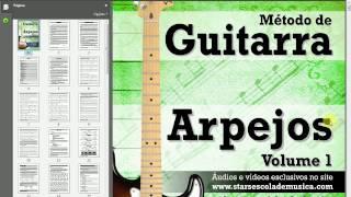 Conhecendo o Método de Guitarra - Arpejos - Vol. 1