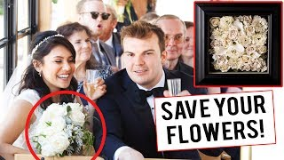 I realize I'm not wearing my WEDDING RING in my WEDDING video! I took it off to shoot a movie. :(  Anyway, hope these tips are helpful! Shoutout to Kyle Herman and Ray Nikpour for the wedding footage! More wedding vids to come! :)PRESERVE YOUR FLOWERS: http://www.abrideonabudget.com/2014/08/wedding-diy-preserving-your-flowers-at.htmlVENDORS I USED:-Wedding Day-Of Coordinator: Wild Heart Events http://www.wildheartevents.com/about/-Food - Trejo's Tacoshttps://www.trejostacos.com/-Photography - B&E Photographyhttp://www.brandonerica.com/-Videography: Kyle Herman and Ray Nikpourhttps://twitter.com/kherms94-Hair/ Makeup: Wendy J. Diazhttp://www.wendyjdiaz.com/-Flowers: Wild Roots Floral - Jessica Steelehttps://www.facebook.com/WILD-ROOTS-Floral-1727472164249938/-Bar: Simply Cocktailshttp://simplycocktailssb.com/-Ceremony Venue: Santa Barbara County Courthouse-Reception Venue: Cabrillo Art Pavilion-INVITES: http://www.vistaprint.com-CAKE TOPPER: https://www.etsy.com/shop/mikeg1968?ref=l2-shopheader-name-BRIDESMAID'S BRACELETS: https://www.etsy.com/listing/256993390/mothers-day-gift-personalized-bracelet?ref=shop_home_feat_3YESTERDAY'S VIDEO: http://bit.ly/NikkiBachPartyFIND ME HERE TOO:INSTAGRAM: http://www.instagram.com/nikkilimoFACEBOOK: http://www.facebook.com/officialnikkilimoTWITTER: http://www.twitter.com/nikkilimoSNAPCHAT: nikkilimoT-SHIRTS: http://www.nikkilimo.spreadshirt.comTUMBLR: http://nikkilimo.tumblr.comWRITE TO ME:Nikki Limo11271 Ventura Blvd. #159Studio City, CA 91604Thanks for watching my stupid youtube channel. I make new videos Monday thru Friday. Subscribe so you don't miss them!