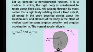 Mod-11 Lec-31 Plane Kinetics Of Rigid Bodies