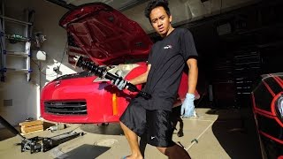 Drift-Spec Coilover Install - Nissan 350Z BC Racing by TJ Hunt