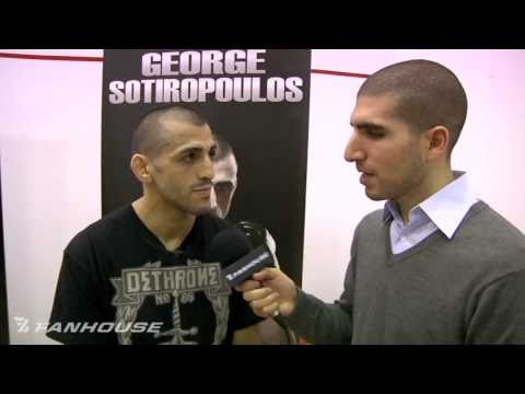 UFC 123 George Sotiropoulous Confused By Fight Gear Complaints