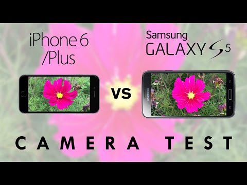 samsung - Apple iPhone 6/6 Plus vs Samsung Galaxy S5 Hands-On Camera Comparison. Comapring the 720p/1080p front-facing cameras, the 1080p/4K, 8/16 megapixel rear facing cameras, Optical Image Stabilisation,...
