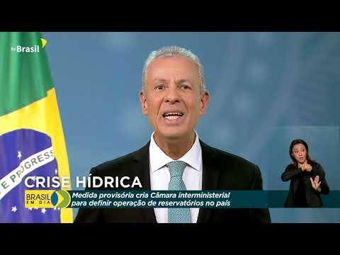 Ministro de Minas e Energia fala sobre ações para conter crise hídrica