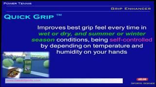 video thumbnail Tennis and Badminton Grip enhancer youtube