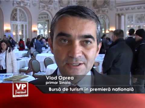 Bursă de turism în premieră națională