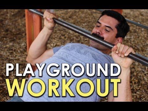 come trasformare il parco giochi in una palestra a cielo aperto