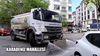Karadeniz Mahallesi Dezenfekte Çalışmaları