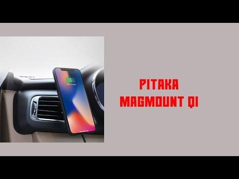 [UNBOXING & FIRST LOOK] Pitaka MagMount QI (видео)
