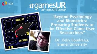 Preparing Students to be Game User Researchers