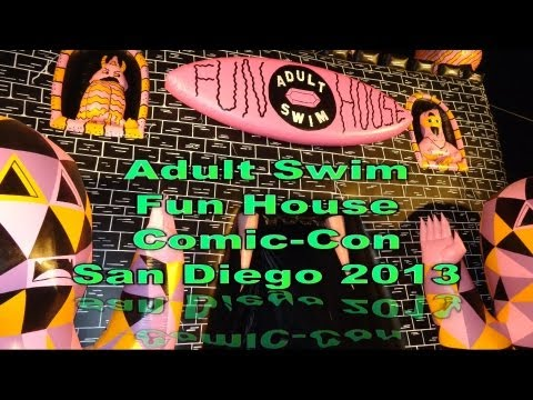 Adult Swim Fun House Comic-Con San Diego 2013