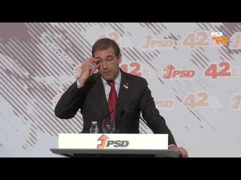 Melhores momentos da intervenção de Pedro Passos Coelho no 42º Aniversário do PSD