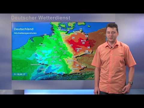 19.05.2017 Unwetterwarnung Deutscher Wetterdienst