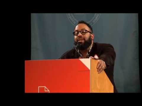 Kevin Young reads at AWP 2015