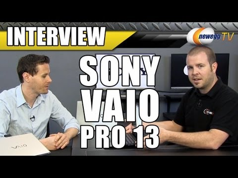 SONY VAIO Pro 13 Series Ultrabooks Interview - Newegg TV