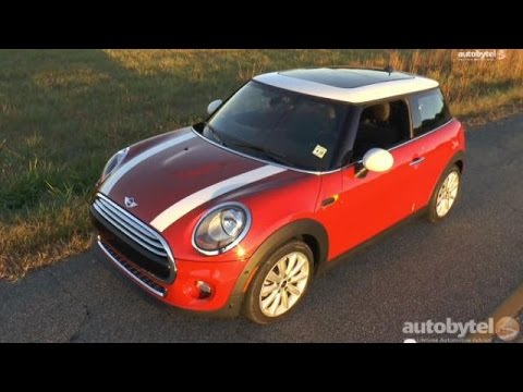 2014 MINI Cooper Hardtop 3-Cylinder Turbo Test Drive Video Review (видео)
