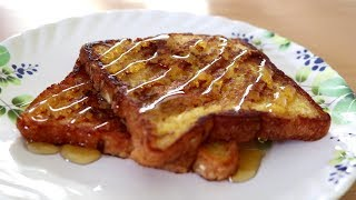 Since I get a lot of eggless requests, I decided to share this really easy and yummy Eggless French Toast recipe. I actually like this...