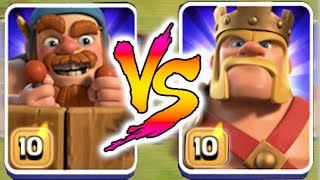 Video king vs battle machine!! | Clash Of Clans | who will win!?! MP3, 3GP, MP4, WEBM, AVI, FLV September 2017