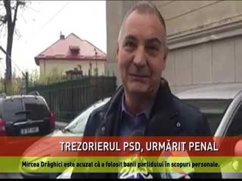Trezorierul PSD, urmărit penal