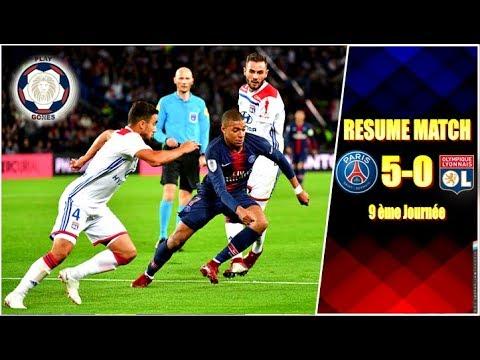 PSG - OL (5 - 0) ○ RÉSUMÉ COMPLET ○ HIGHLIGHTS & ALL GOALS