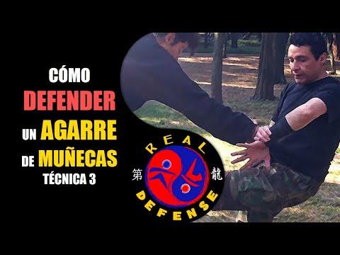 Ninjutsu Taijutsu Defensa Personal vs agarre de muñeca USHIRO GOTE