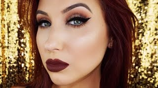 Cat Eye & Vampy Lips | Fall Makeup Tutorial
