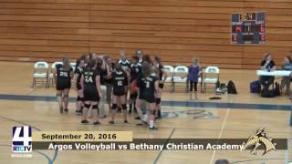 Argos Volleyball vs Bethany Christian Academy