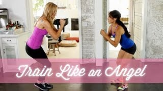 How To Train Like A Victoria's Secret Model - YouTube