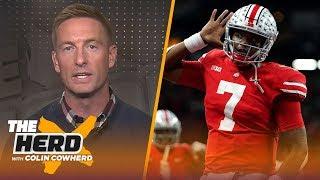 Joel Klatt on final College Football rankings, talks Dwayne Haskins' pro potential | CFB | THE HERD
