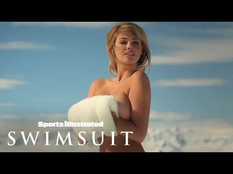 超級敬業的比基尼模特兒,在北極可以不穿內衣拍照!