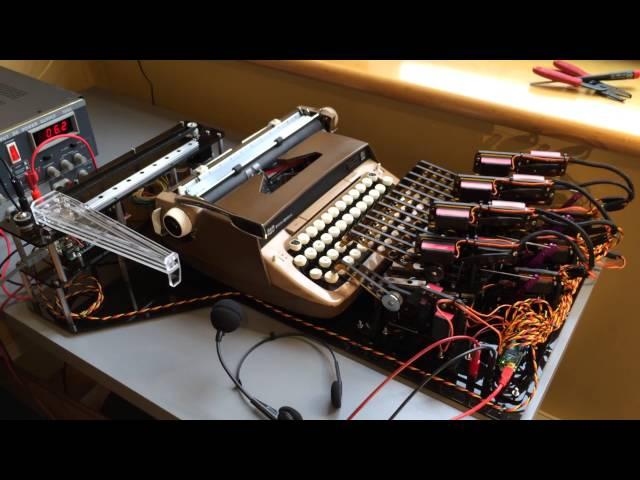 自動タイプライター